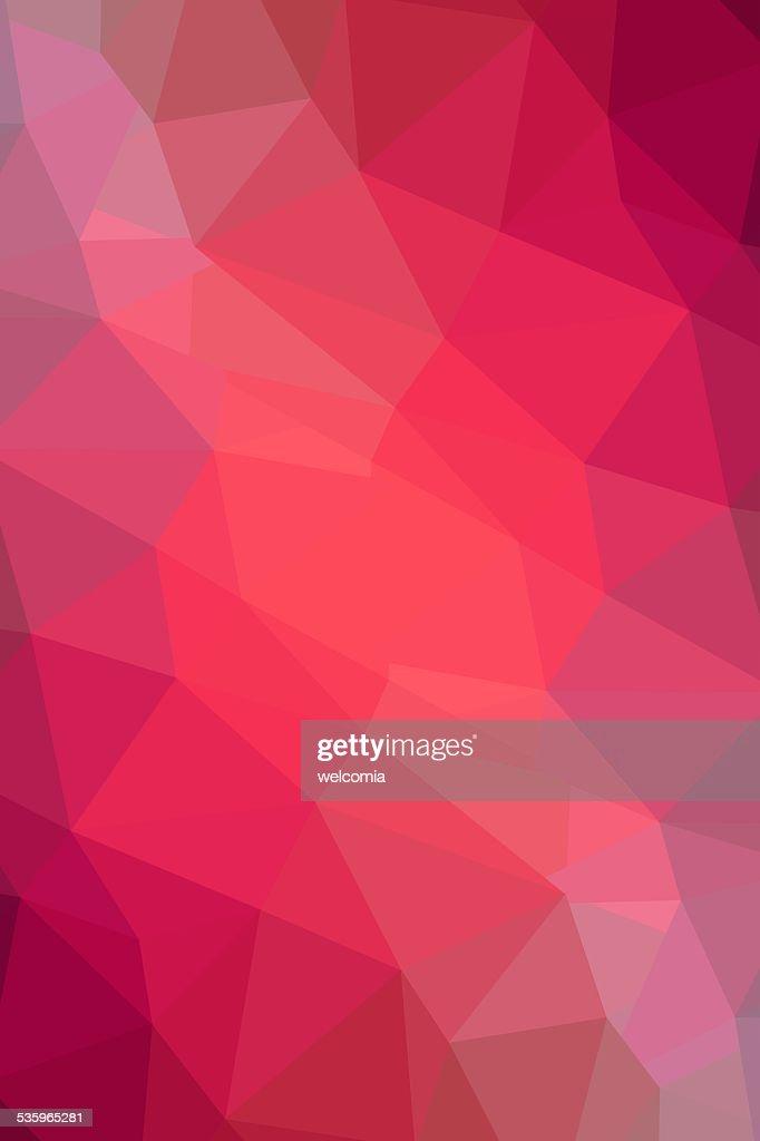 Pink Geometry Background : Stock Photo
