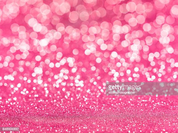 Pink Glitter bokkeh