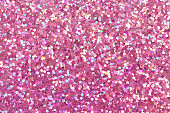 Pink bright glitter texture. High resolution photo.