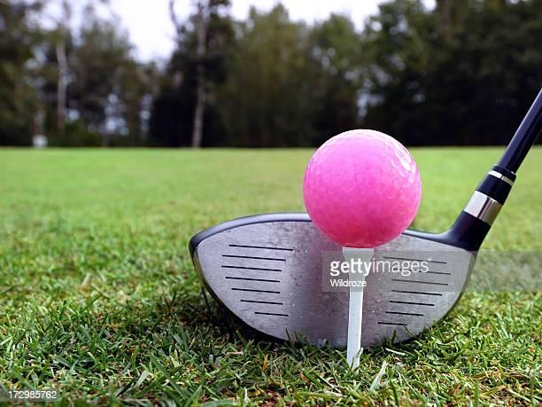 Rose Balle de golf prête à jouer