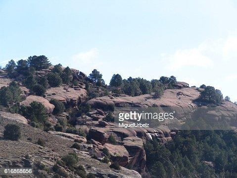 Pink granite : Stock Photo