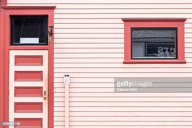 Pink House in Skagway, Alaska