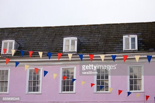 Pink House : Stock Photo