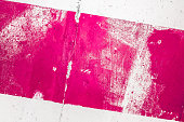 Pink painted wall paper texture background, may use as abstract background.