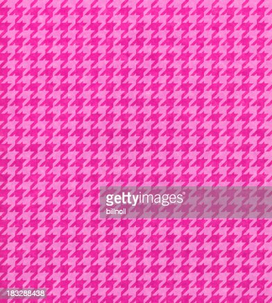 pink paper with houndstooth pattern