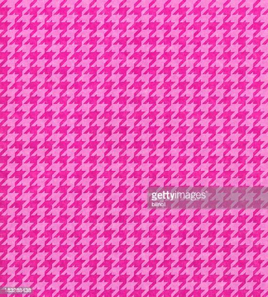 pink Papier mit Hahnentrittmuster