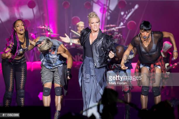 Pink performs on Day 4 of the RBC Bluesfest on July 9 2017 in Ottawa Canada