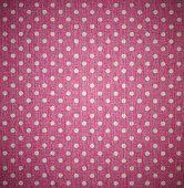 Pink Polka dots fabric texture