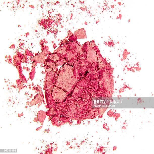 Pink powder blush