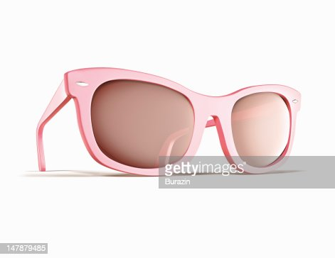 Pink retro sunglasses