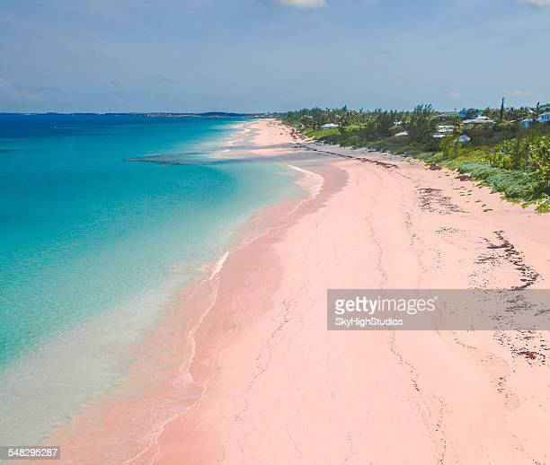 Harbor island bahamas stock photos and pictures getty images for Bahamas pink sand beach