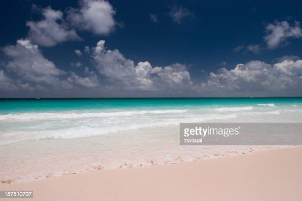 Pink Sands Beach at Harbour Island Bahamas