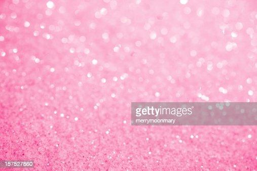 Pink Sugar Sparkle Background
