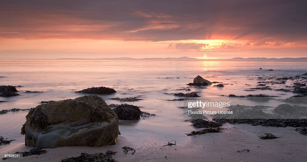 Pink Sunset : Stock Photo