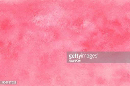 pink white watercolor texture or vintage grunge paint background : Stock Photo