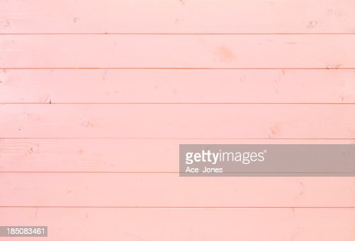 Pink wooden background