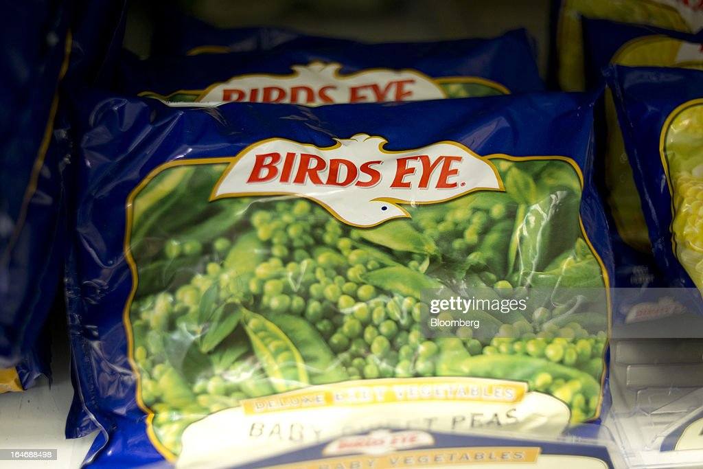 Pinnacle Foods Birds Eye brand frozen vegetables sits on display for sale at a supermarket in Princeton, Illinois, U.S., on Tuesday, March 26, 2013. Pinnacle Foods Inc., the maker of Birds Eye frozen vegetables and Hungry-Man dinners owned by Blackstone Group LP, plans to raise as much as $580 million in an initial public offering that would value the company at about 2.1 billion. Photographer: Daniel Acker/Bloomberg via Getty Images