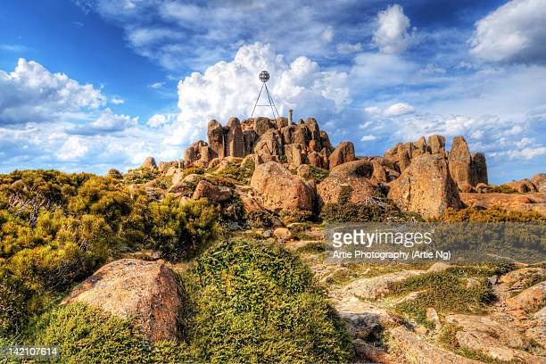 Pinnacle Rocks at Mount Wellington
