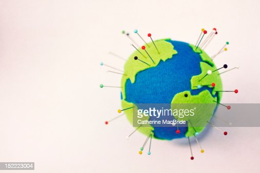 Pinning globe