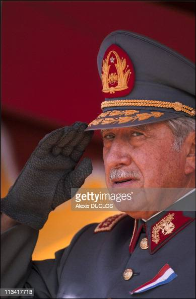 A Pinochet Opens The Southern Route On March 1st 1988 In Chile