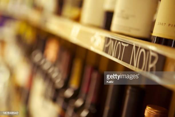 Pinot Noir Wine Bottles