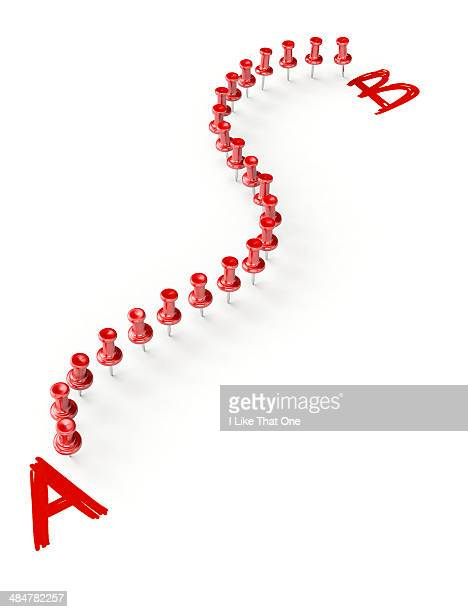 Pins joining A to B