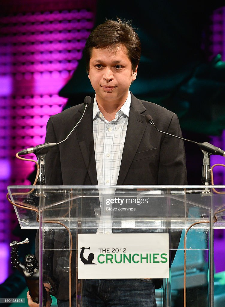 Pinterest winner for Best Content Discover Application at the 6th Annual Crunchies Awards at Davies Symphony Hall on January 31, 2013 in San Francisco, California.