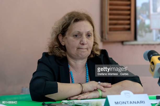 Pinuccia Montanari Counselor for Environmental Sustainability of Rome Capital during the presentation of the campaign against the summer abandonment...