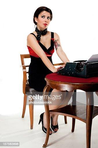 Sexy Secretary Pic 49