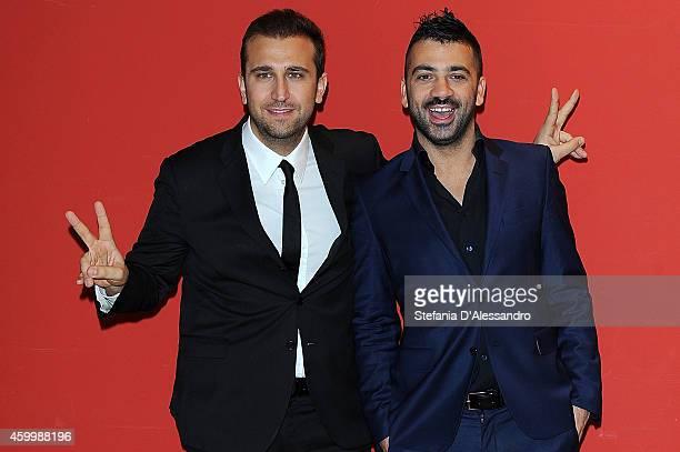 Pio Amedeo attend Ma Tu Di Che Segno 6 photocall held at Apollo Cinema on December 5 2014 in Milan Italy