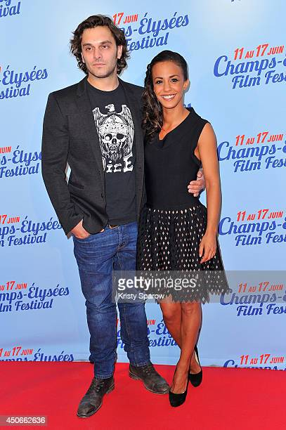 Pio Marmai and Alice Belaidi attend the Maestro Paris Premiere during Day 5 of the Champs Elysees Film Festival on June 15 2014 in Paris France