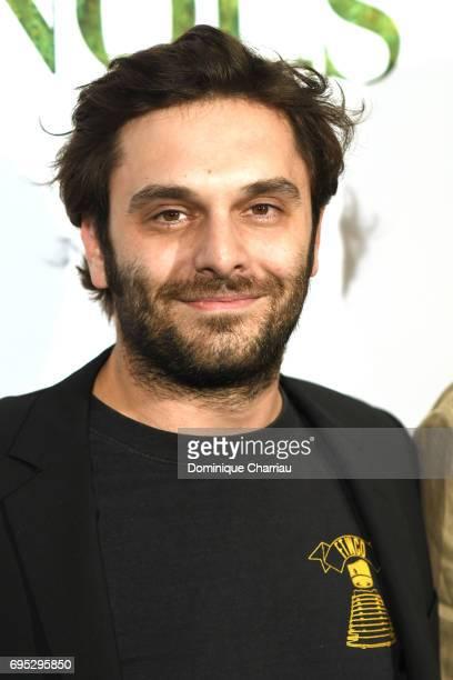Pio Marmai attends the 'Ce Qui Nous Lie' Paris Premiere at Cinema UGC Normandie on June 12 2017 in Paris France