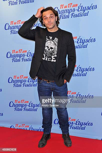 Pio Marmai attends the Maestro Paris Premiere during Day 5 of the Champs Elysees Film Festival on June 15 2014 in Paris France