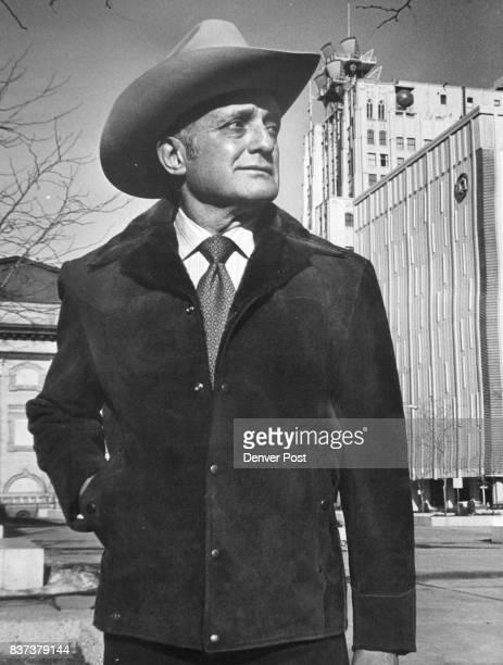Pioneer Wear Cowhide shown by miller stockman Credit The Denver Post