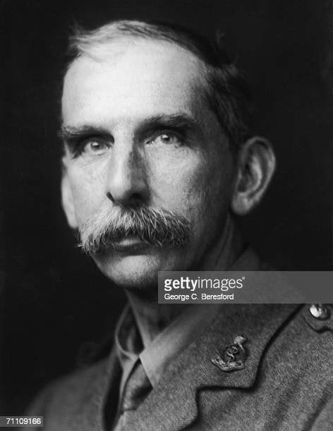 Pioneering neurosurgeon Sir Victor Horsley in uniform as as a colonel and Director of Surgery of the British Army Medical Service 12th May 1915