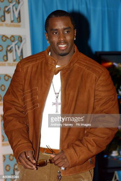 Pioneering producer rapper and pop phenomenon Sean 'P Diddy' Combs is revealed as the host of the MTV Europe Music Awards 2002 during a press...