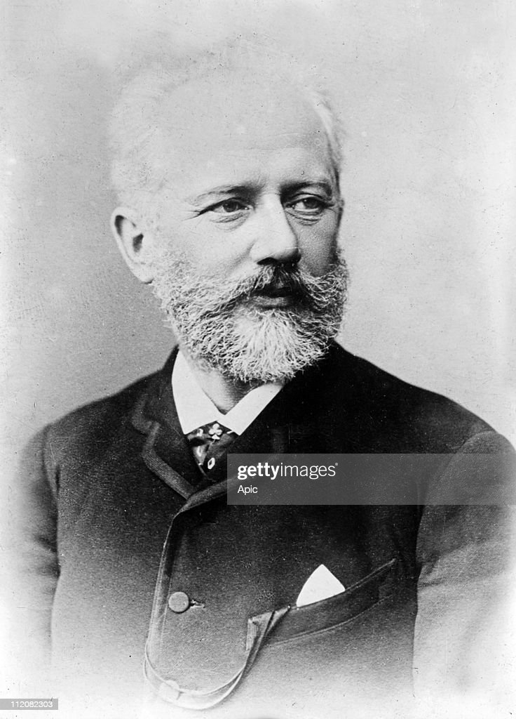 Piotr Illich Tchaikovsky (1840-1893) russian composer here c. 1890.