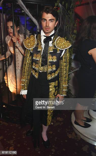 Piotr Krzymowski attends Halloween at Annabel's at 46 Berkeley Square on October 29 2016 in London England