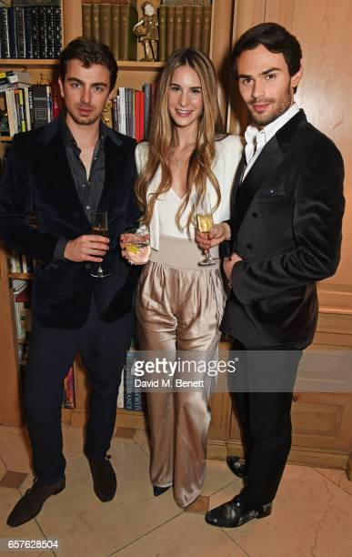 Piotr Krzymowski guest and Mark Francis Vandelli attend Lisa Tchenguiz's party hosted by Fatima Maleki in Mayfair on March 24 2017 in London England