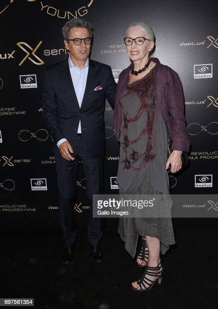 Piotr Polk and Helena Norowicz attend the Forever Young Varilux gala on June 06 2017 at the IMKA Theatre in Warsaw Poland The gala was organized by a...