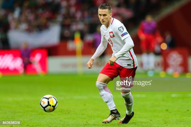 Piotr Zielinski during the FIFA World Cup 2018 qualification match between Poland and Kazakhstan in Warsaw on September 4 2017