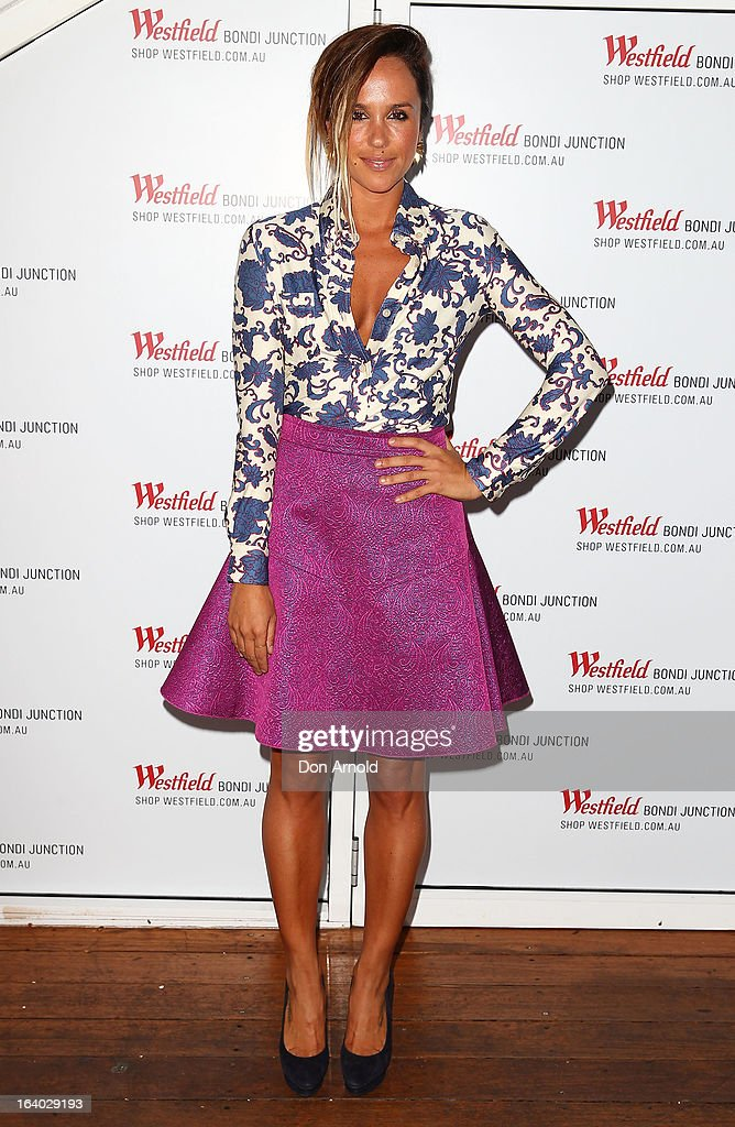 Pip Edwards poses at the Westfield Autumn/Winter 2013 launch at Pelicano Bar on March 19, 2013 in Sydney, Australia.