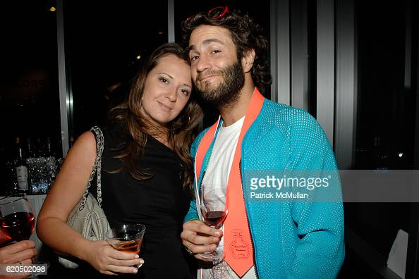 Pipa Guest and Tomas Combard attend TRAVEL LEISURE Magazine Presents PROJECT GLOBE at The Chelsea Arts Tower on September 17 2008 in New York City