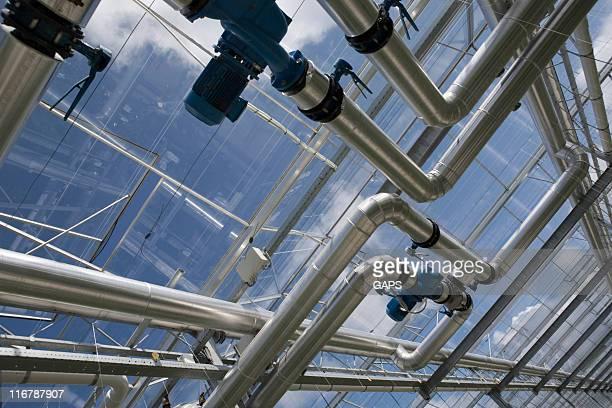 La construction de gazoducs à l'agriculture serre