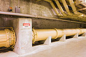 Pipeline in water treatment plant