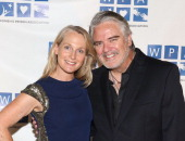 Piper Kerman and Michael Harney attend the 2014 Annual Benefit by the Women's Prison Association at Loeb Central Park Boathouse on May 27 2014 in New...