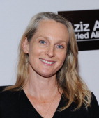 Piper Kerman attends 'Aziz Ansari Buried Alive' Premiere at Village East Cinema on October 30 2013 in New York City