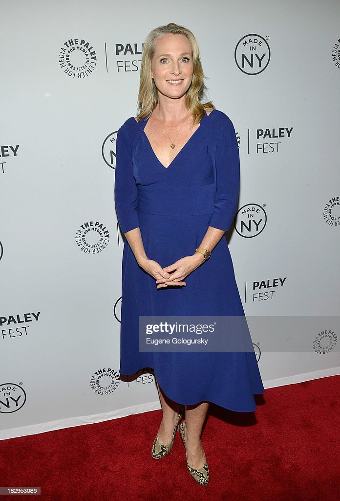 Piper Kerman attends 'Orange Is the New Black' during 2013 PaleyFest: Made In New York at The Paley Center for Media on October 2, 2013 in New York City.