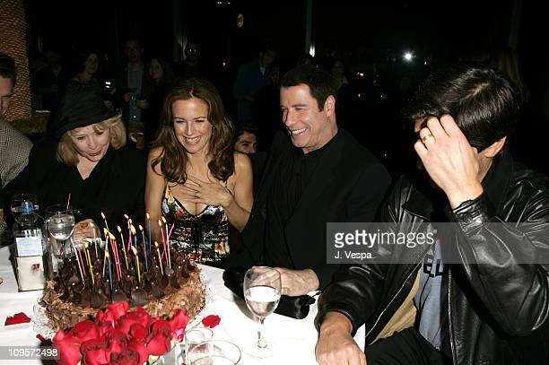 Piper Laurie Kelly Preston John Travolta and Ray Romano