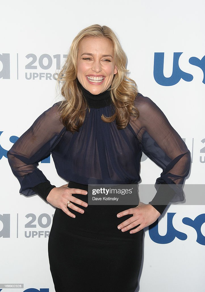 <a gi-track='captionPersonalityLinkClicked' href=/galleries/search?phrase=Piper+Perabo&family=editorial&specificpeople=240107 ng-click='$event.stopPropagation()'>Piper Perabo</a> attends USA Network 2013 Upfront Event at Pier 36 on May 16, 2013 in New York City.